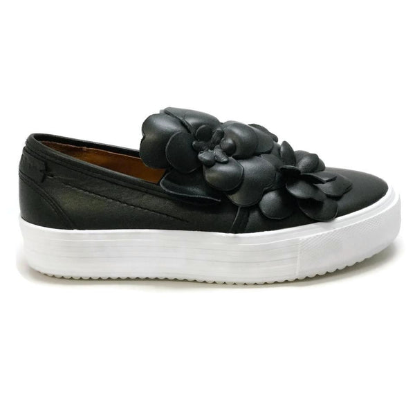 See by Chloé Black Flower Sneakers