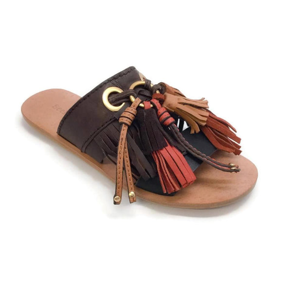 See by Chloé Tassel Slide Sandals