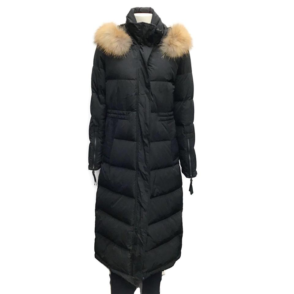 SEVENTY Black Down Coat
