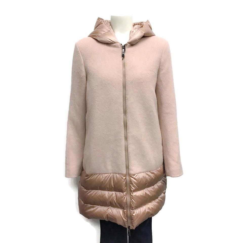 SEVENTY Pink Wool/Down Coat