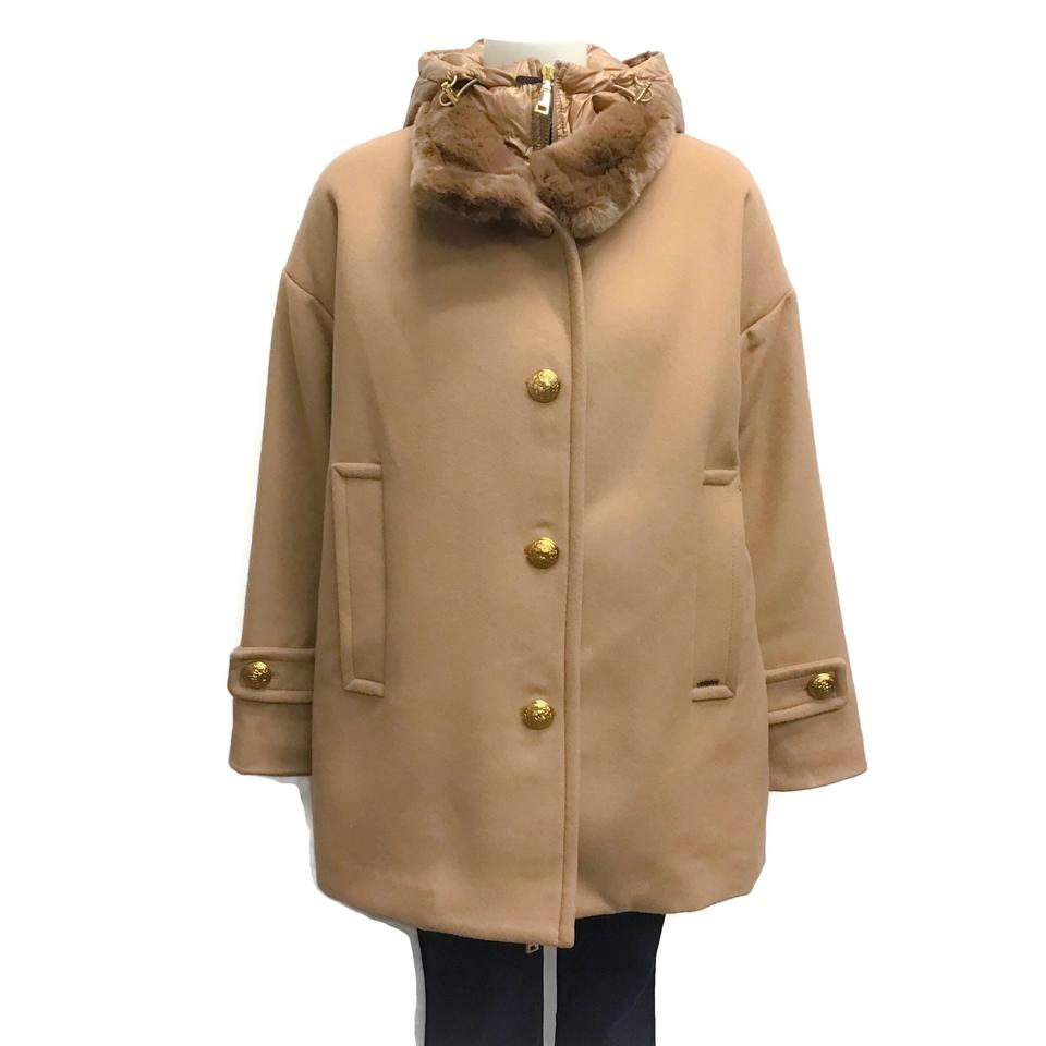 SEVENTY Tan Down Coat
