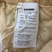 Jil Sander Butter Elasticated Waist A-line Skirt