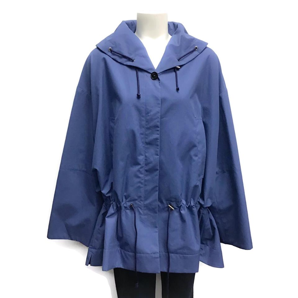 Sonia Rykiel Blue Drawstring Jacket