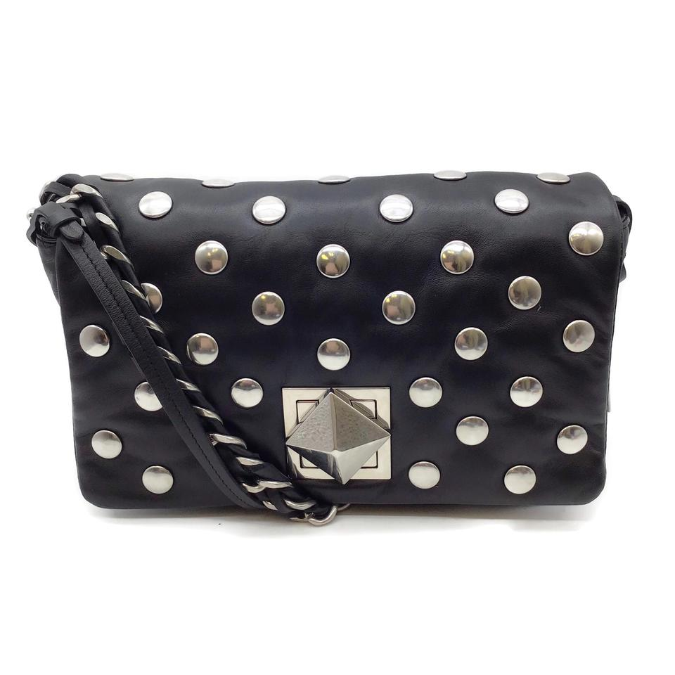 Sonia Rykiel Studded Black Leather Bag
