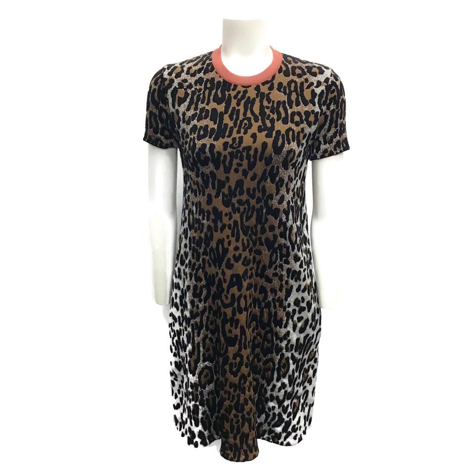 Stella McCartney Animal Print Knit Dress