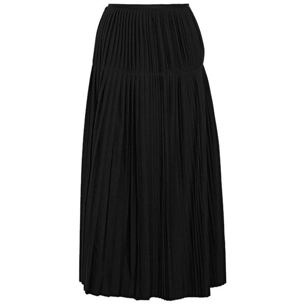 Stella McCartney Black Pleat Skirt