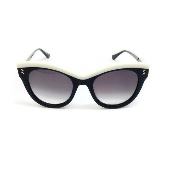 Stella McCartney Black / White Sc00215s Sunglasses, front