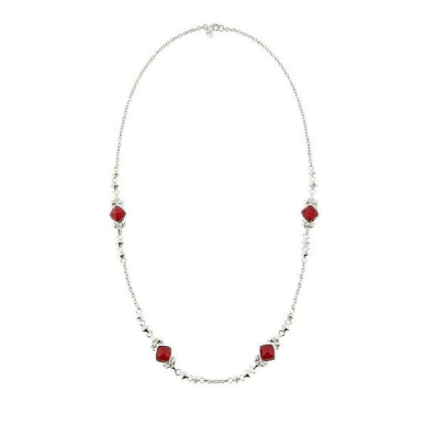 Superstud Doublet Stud-Link Necklace by Stephen Webster