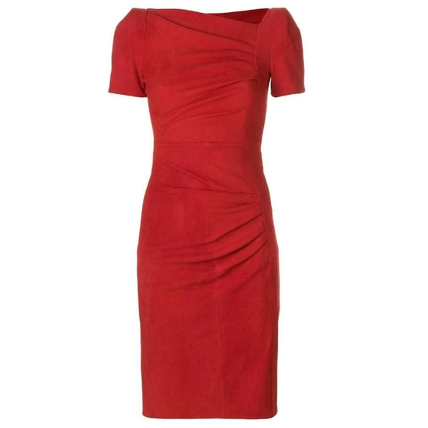 Talbot Runhof Red Noomi6 Dress