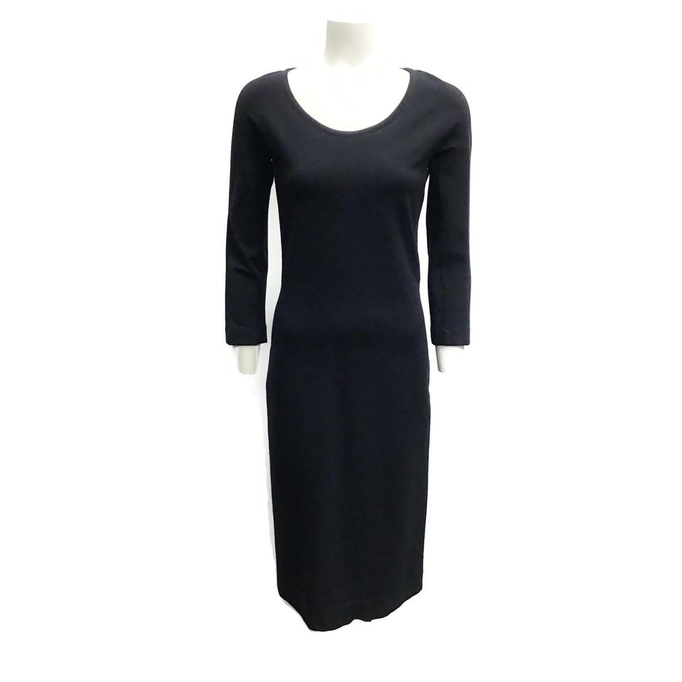 The Row Black Knit Dress