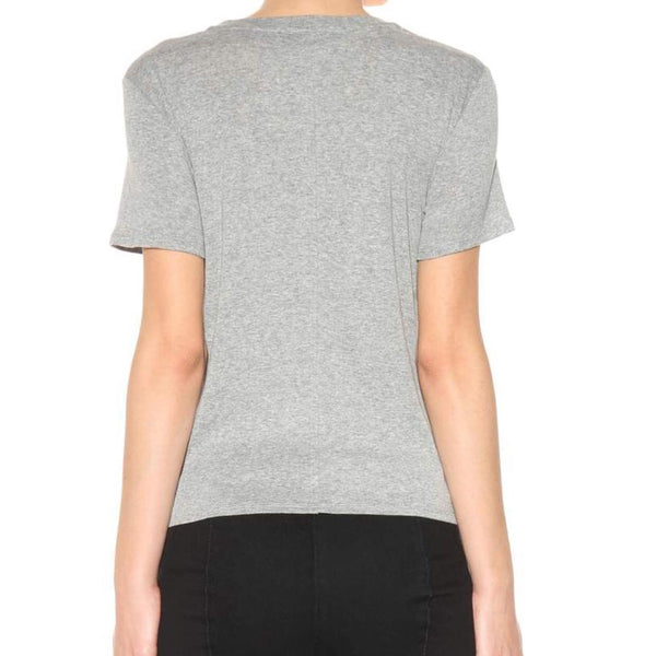 The Row Gray Wesler Cotton Tee Shirt