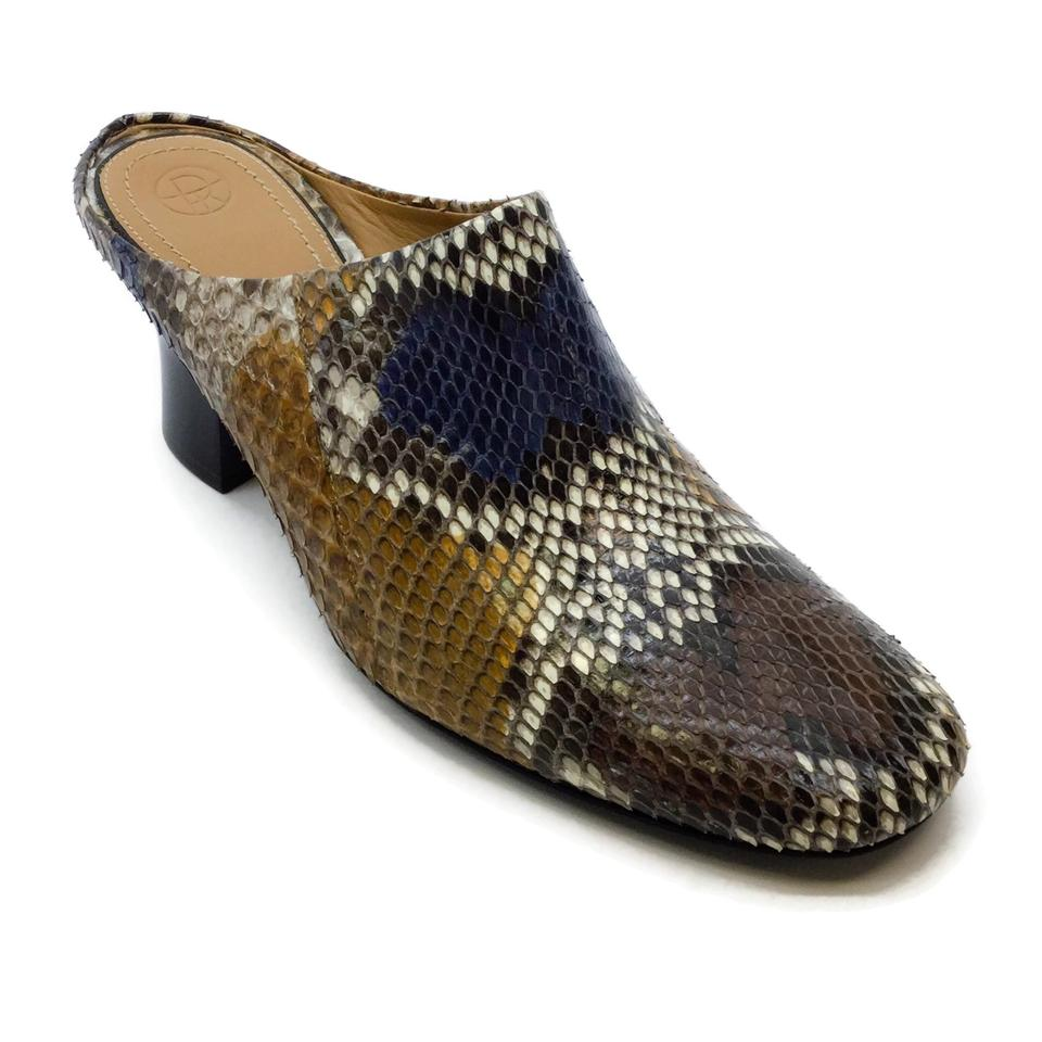 The Row Multicolor Python Mules