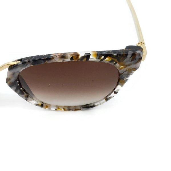 THIERRY LASRY Brown / Grey Hinky V180 Sunglasses
