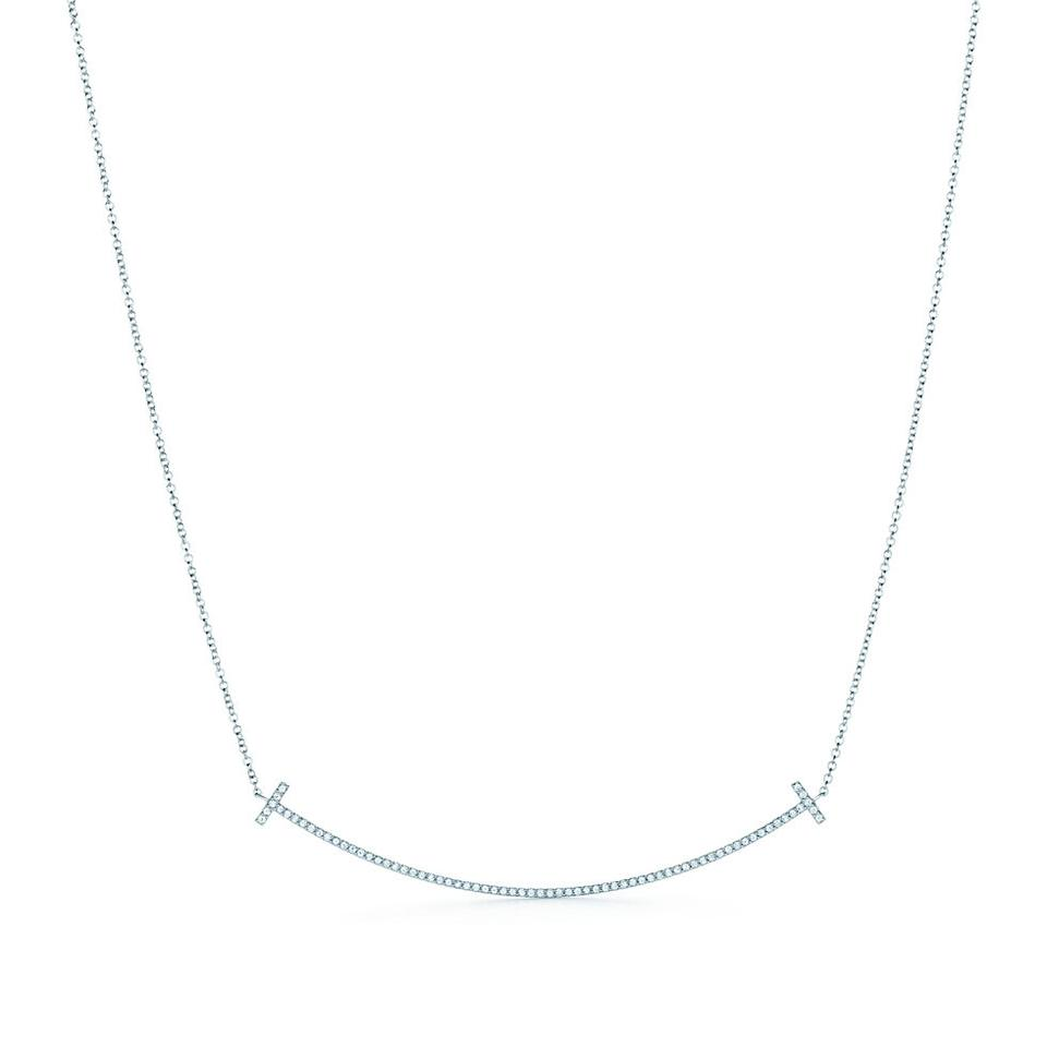 Tiffany & Co. Smile Pendant Necklace
