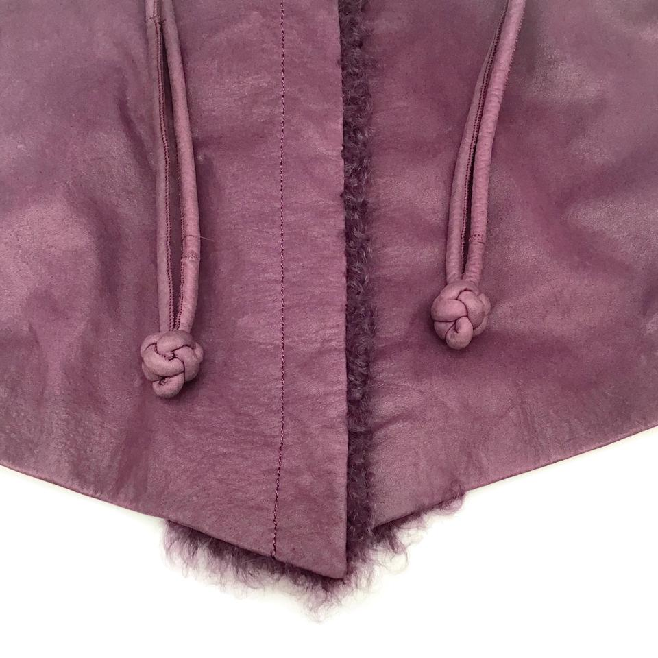 Trilogy Purple Lamb Jacket