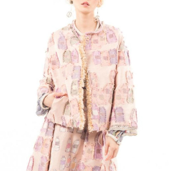 Tsumori Chisato Pink Colorful Tube Jacket Blazer