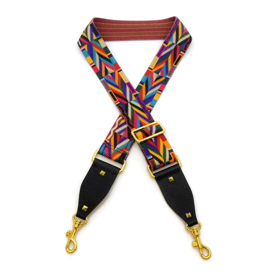 Valentino Multi Native Couture Guitar Strap