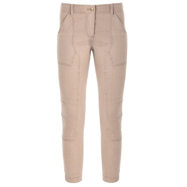 Veronica Beard Calladium Cargo Zip Pants