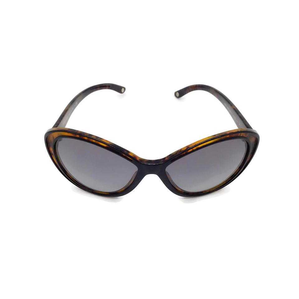 Versace Black Tortoise Inlay Sunglasses