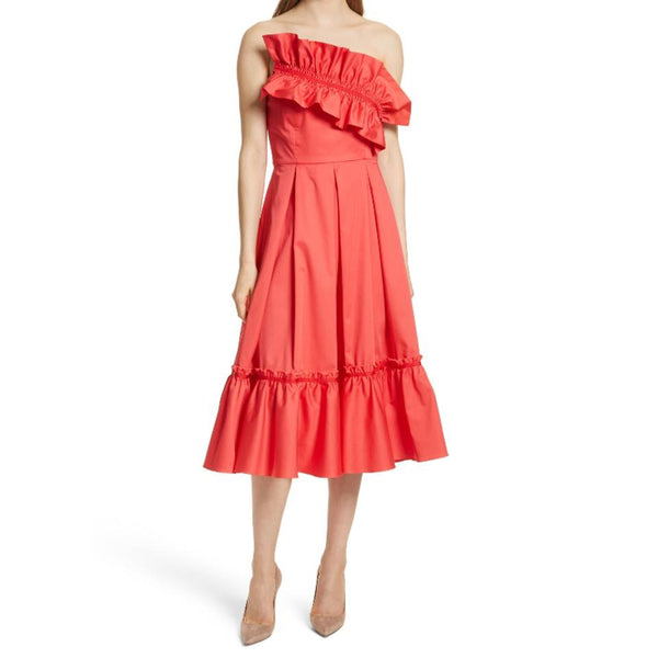 Prose & Poetry Watermelon Harlow Strapless Dress