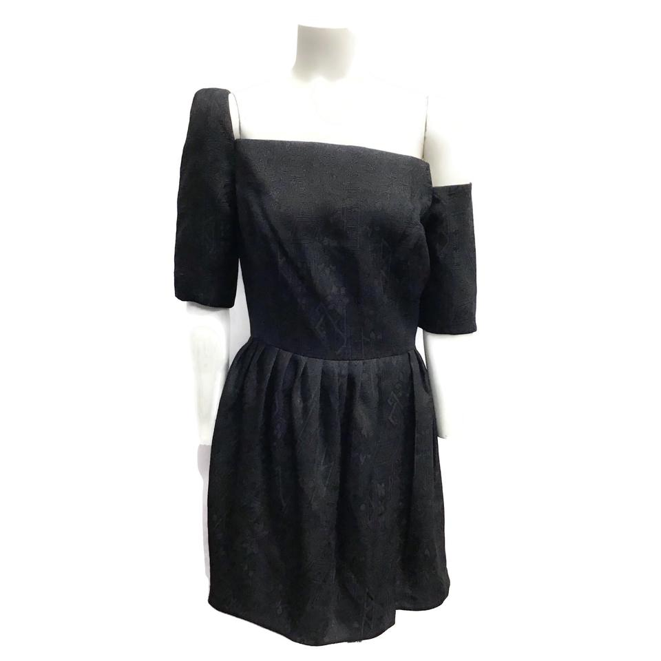 ZIMMERMANN Black Shimmer Dress