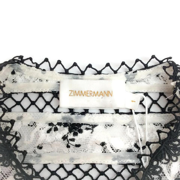 Lace Top and Skirt by Zimmerman label