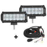 7 INCH 36W CREE SPOT BEAM OFFROAD TRUCK LED LIGHT BAR - gregsrepair.com