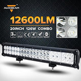 "20"" 126W LED Light Bar Off-road Vehicle Lighting, Emergency & Rescue Lighting - gregsrepair.com"