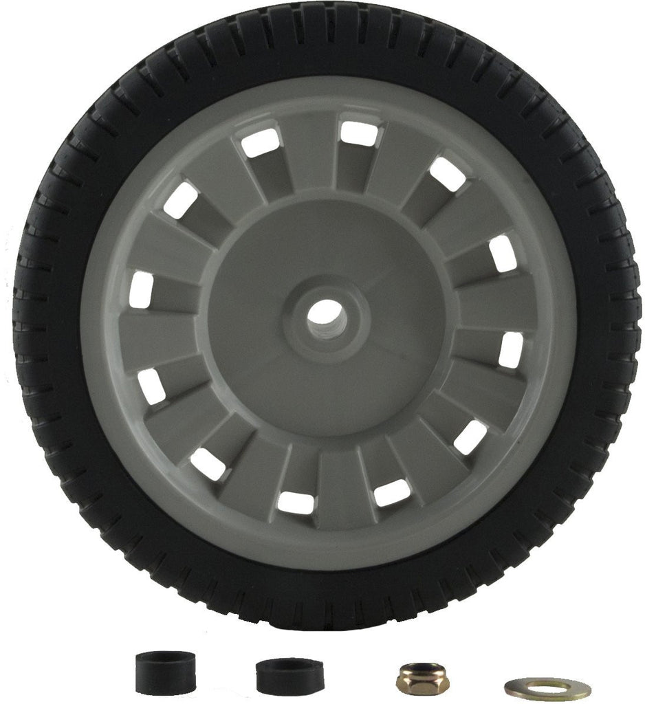 "Arnold Universal 8"" Lawn Mower Wheel with adapters - gregsrepair.com"