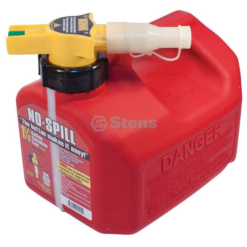 No-Spill 1 1/4 Gallon Fuel Can No-Spill 1415 - gregsrepair.com