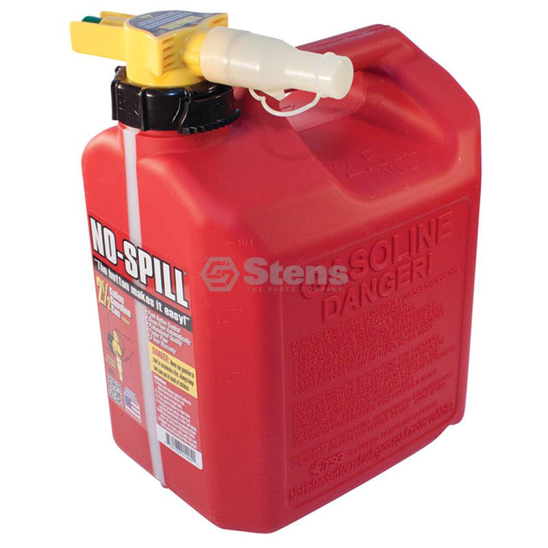 No-Spill 2 1/2 Gallon Fuel Can No-Spill 1405 - gregsrepair.com
