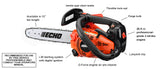 CS-271T 26.9cc Top Handle Chain Saw - gregsrepair.com