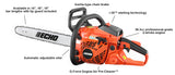 CS-370 36.3cc Chain Saw with i-30 Starter - gregsrepair.com