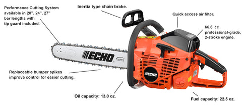 CS-680 66.8cc Chain Saw - gregsrepair.com