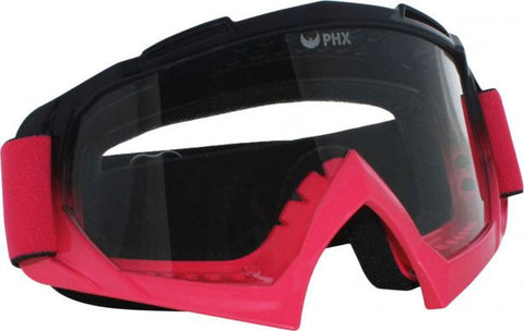 PHX GPro Adult Goggles - Gloss Black/Pink - gregsrepair.com