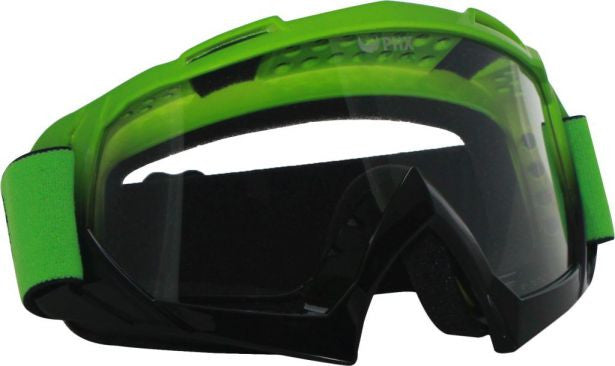 PHX GPro Adult Goggles - Gloss Green/Black - gregsrepair.com