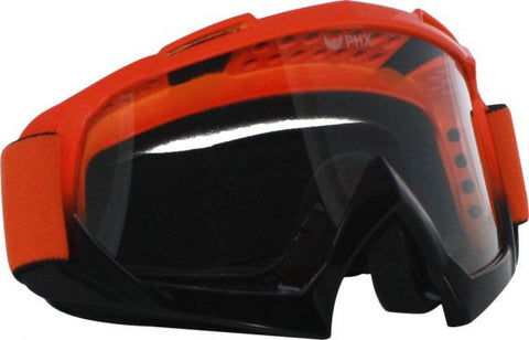 PHX GPro Adult Goggles - Gloss Orange/Black - gregsrepair.com
