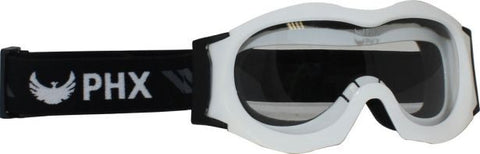 PHX GPro Kids & Youth Goggles - Gloss White - gregsrepair.com