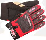 PHX Gloves Motocross, Adult (Red) - gregsrepair.com
