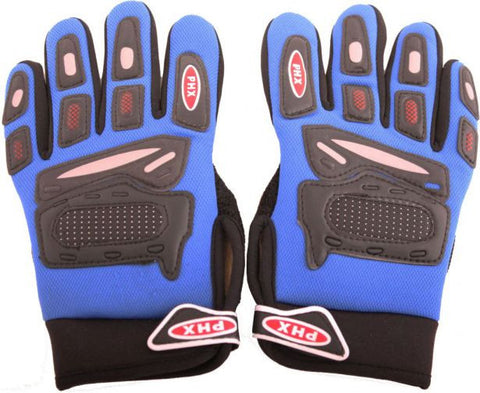 PHX Gloves Motocross, ADULT (Blue) - gregsrepair.com