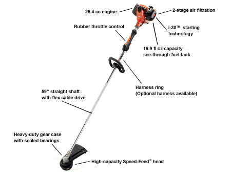 SRM-266T *25.4CC TRIMMER STRAIGHT SHAFT TRIMMER HIGH TORQUE - gregsrepair.com
