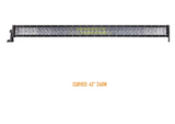 5D-SERIES CREE COMBO STRAIGHT/CURVED LED LIGHT BAR (PROJECTOR LENS)