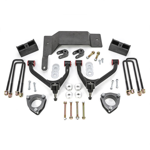 "2014-2016 SILVERADO/SIERRA 1500 4WD 4"" LIFT KIT - CAST STEEL SUSP. - Rugged Off Road - gregsrepair.com"