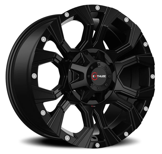 ENTHUZE WIDOW FULL BLACK Wheel 18X9 6x135/139.7 Offset: 10 mm