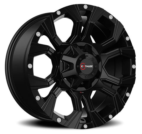 ENTHUZE WIDOW FULL BLACK Wheel / Enthuze / #ACT64R-1890-70+10FB