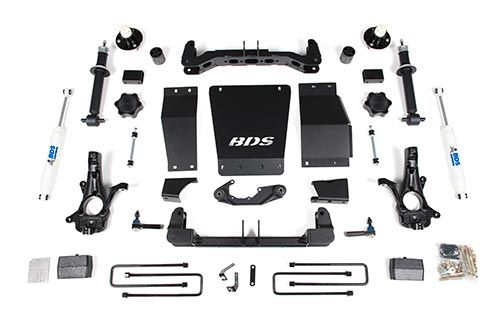 "BDS Suspension 4"" Suspension System Chevy/GMC 1500 4WD - gregsrepair.com"