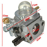 1Pack Brand New Carburetor Carb for Zama C1U-K52/C1U-K47 fits For Echo GT2000 GT2100 SRM2100 String Free Shipping - gregsrepair.com