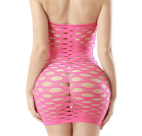Sexy hole mesh short lingeries s0070030