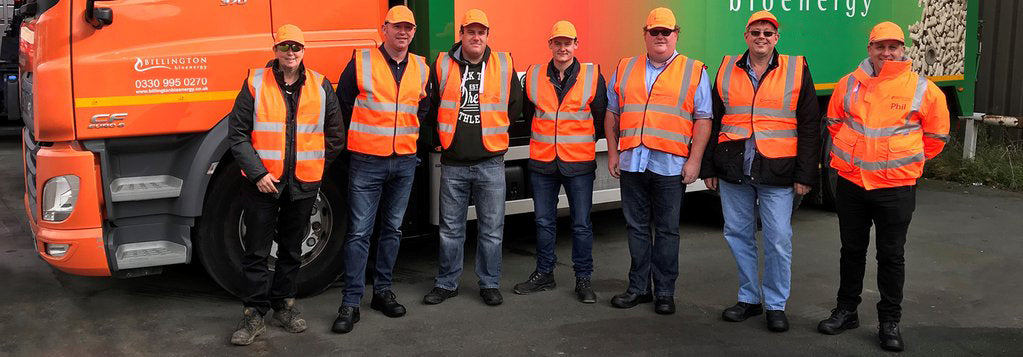Billington Bioenergy welcomes new delivery drivers