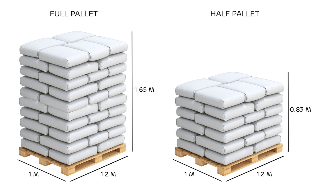 Billington Bioenergy Wood Pallet Dimensions